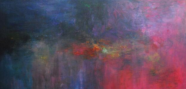 MD Tokon, 'Moonlight lillies', 2016