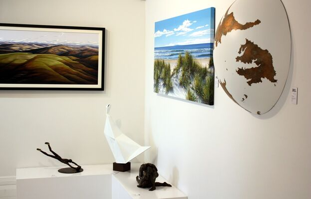 Art Picks Up Where Nature Ends, installation view