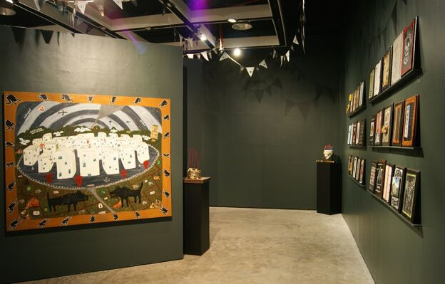 Spectacles of the Third World - a solo exhibition by Cian Dayrit, installation view