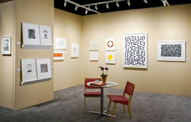 Senior & Shopmaker Gallery at IFPDA Print Fair 2015, installation view