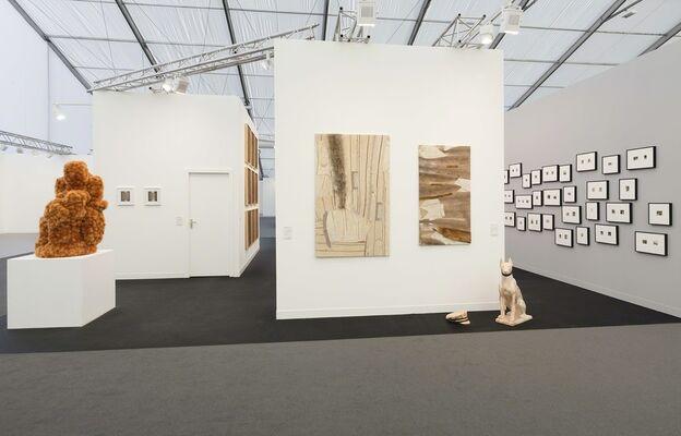 Esther Schipper at Frieze London 2018, installation view