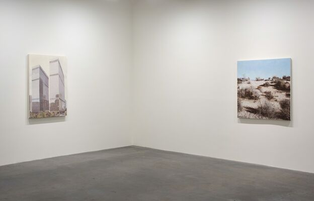 Jack Hoyer: May Be Seen, installation view
