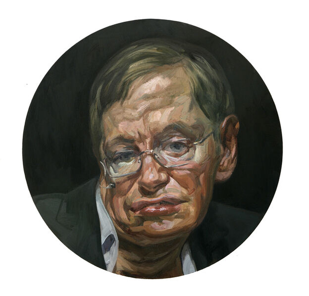 Tai-Shan Schierenberg, 'Untitled (Stephen Hawking)', 2010