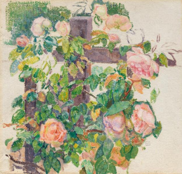 Théo van Rysselberghe, 'Roses grimpantes', ca. 1920