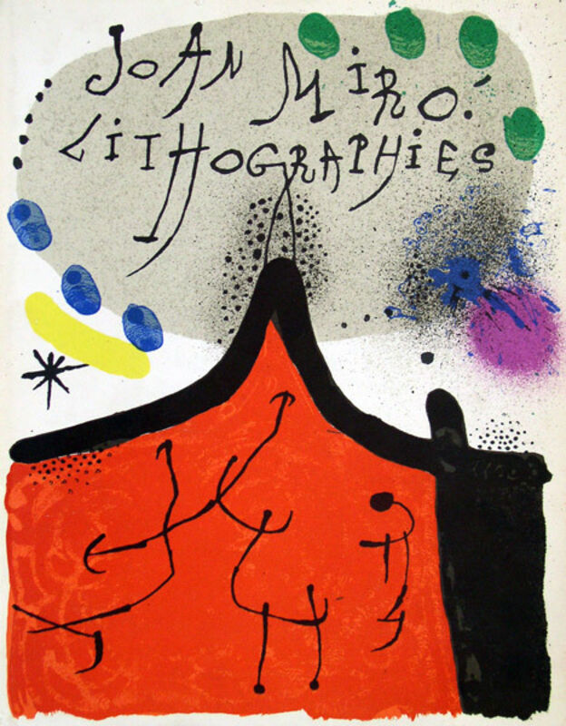 Joan Miró, 'Untitled', 1972, Print, Lithograph, Galerie d'Orsay