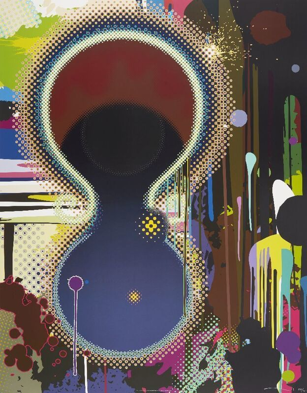 Takashi Murakami, 'Dumb Compass', 2008, Print, Offset lithograph in colours on smooth wove, Roseberys
