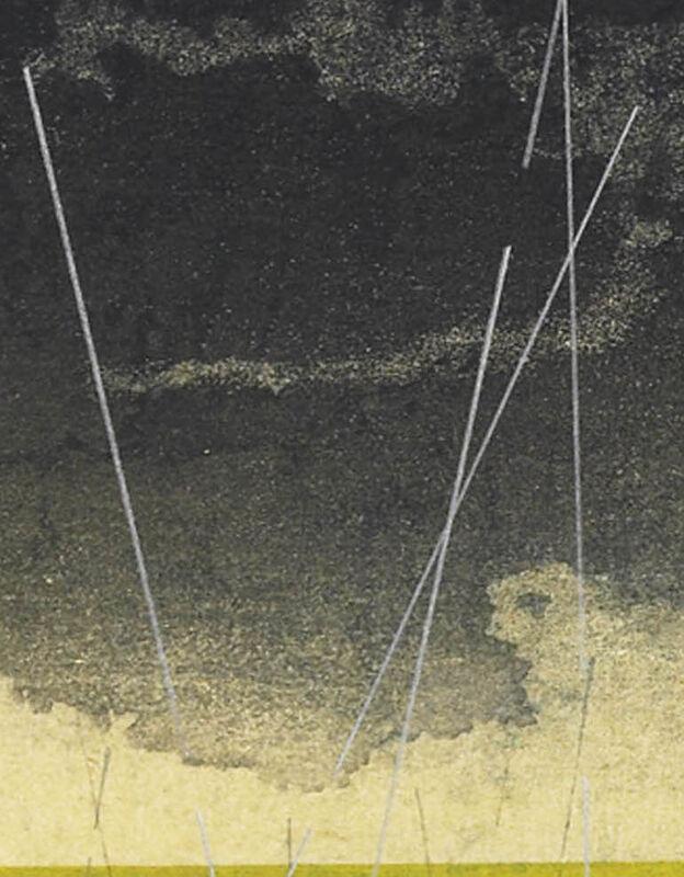 Keiji Shinohara, 'Accelerondo', 2005, Print, Woodcut, Garvey | Simon