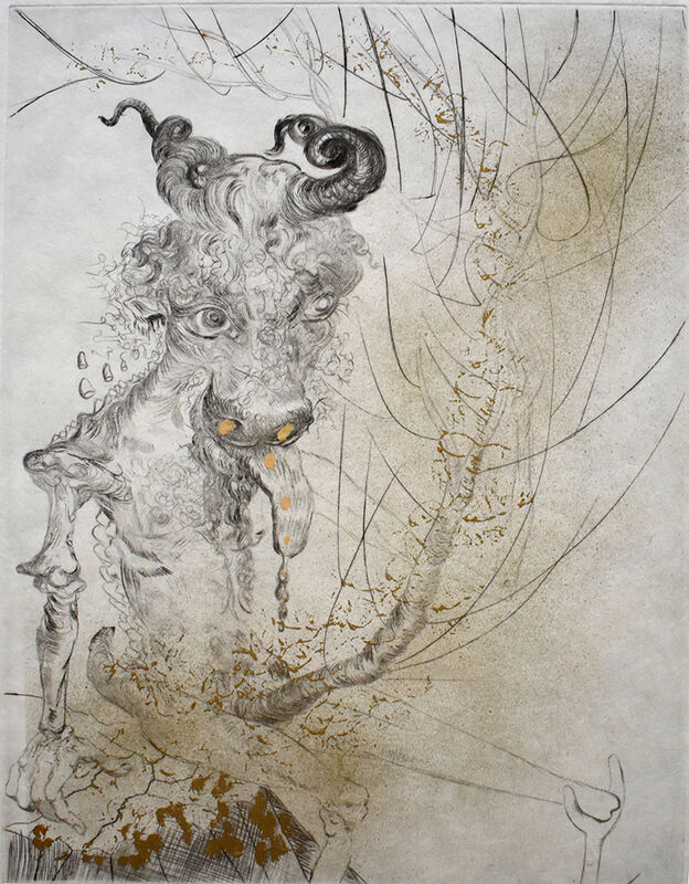 Salvador Dalí, 'Faust (Walpurgis Night)   Faust (La nuit de Walpurgis)', 1968-69, Print, Complete Set of Eleven Original Hand Signed, Numbered and Hand-Coloured Etchings on Japan Paper, Gilden's Art Gallery