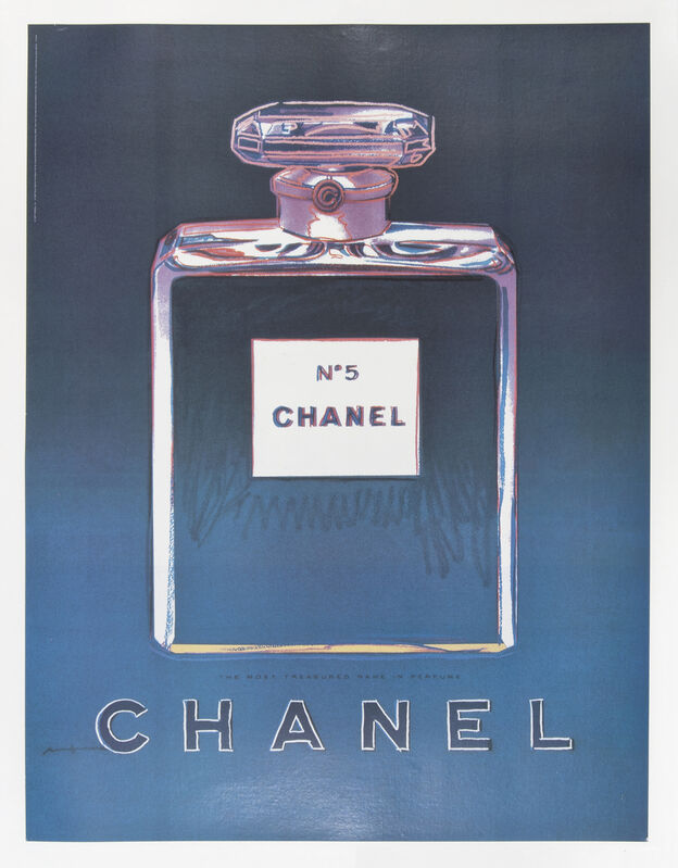 Andy Warhol, 'Chanel No.5', 1997, Print, Offset lithographs on linen backs, Tate Ward Auctions