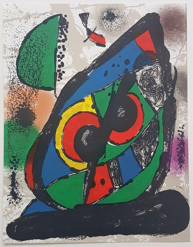 Joan Miró, 'Lithographie Originale I', 1981, Print, Color Lithograph, Cerbera Gallery