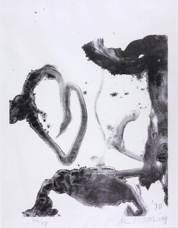 Willem de Kooning, 'Valentine', 1971, Print, Lithograph, Susan Sheehan Gallery
