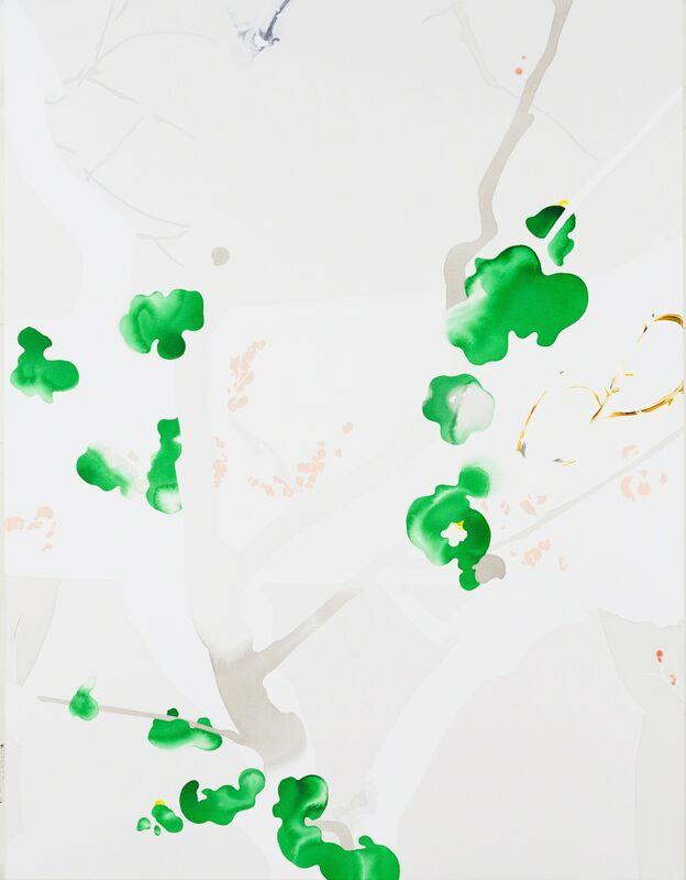 Masumi Nakaoka, 'drip, tumtum, clear', 2014, Painting, Acrylic and oil paint on canvas, Art Front Gallery