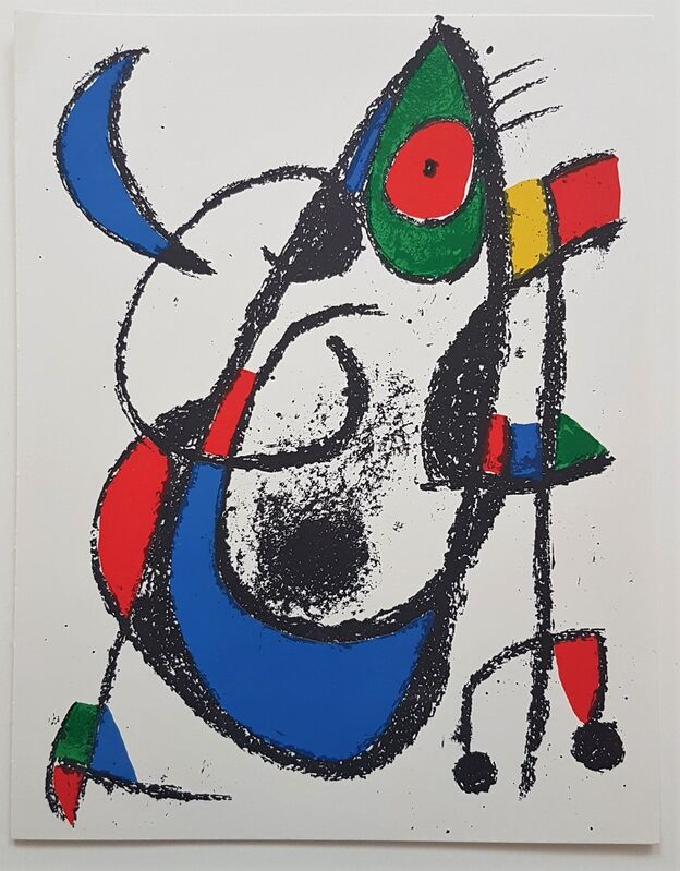 Joan Miró, 'Lithographie Originale XI', 1977, Print, Color Lithograph, Cerbera Gallery