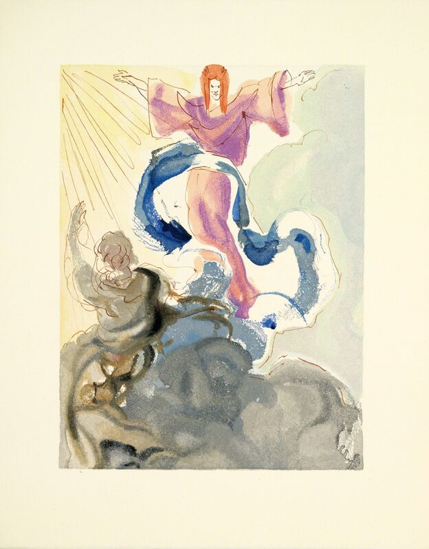 Salvador Dalí, 'Heaven Canto 3 (The Divine Comedy)', 1959-1964, Print, Wood engraving, Martin Lawrence Galleries