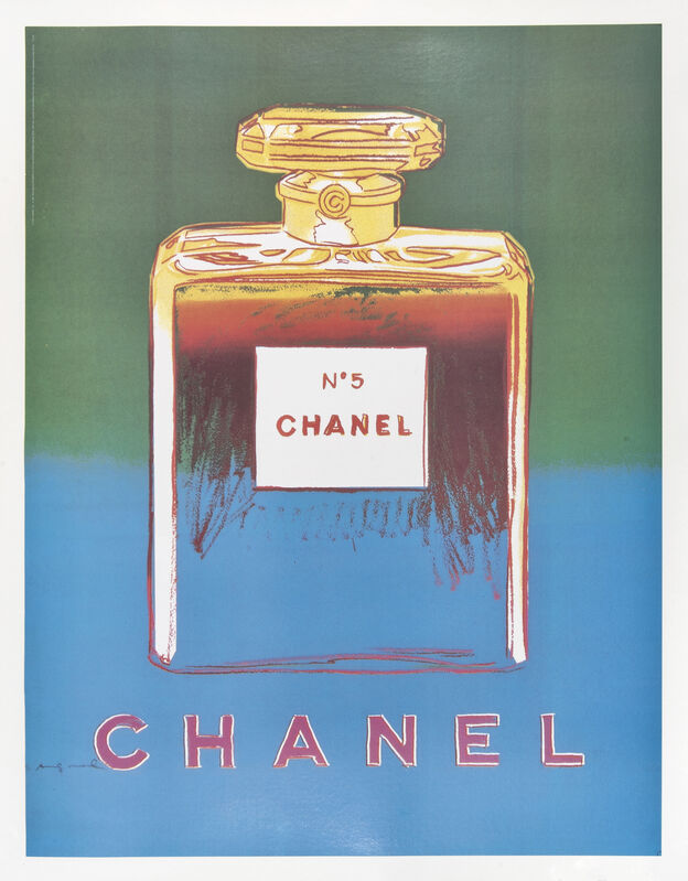 Andy Warhol, 'Chanel No.5', 1997, Print, A complete set of four offset lithographs on linen backs, Tate Ward Auctions
