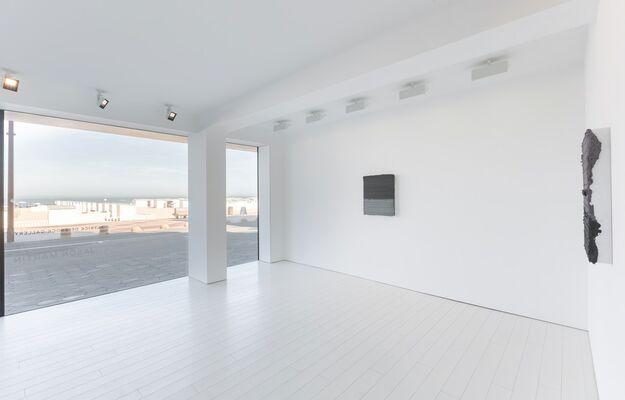 Jason Martin — Graphite, installation view