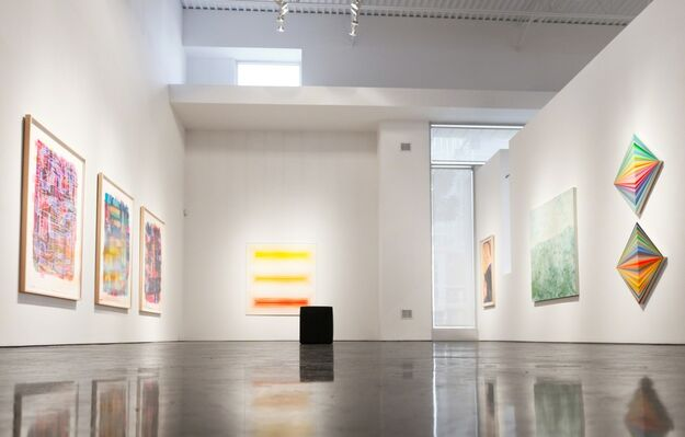 """""""Sunscreen"""" - Group Exhibition, installation view"""