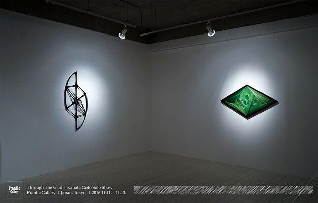 Through The Grid | Kanata Goto Solo Show, installation view