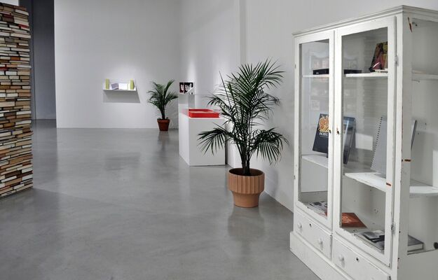 BOOK / HOUSE, installation view