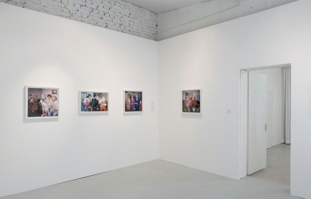 David LaChapelle - Recollections in America, installation view