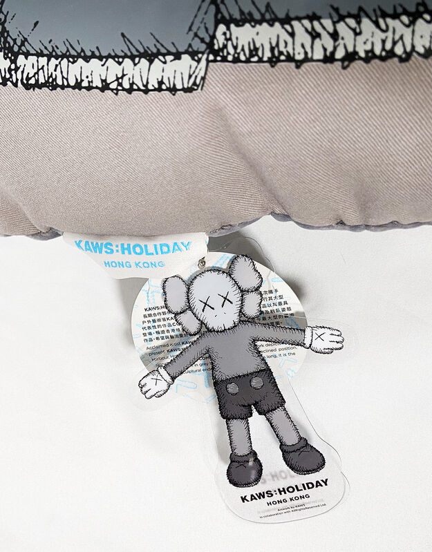 KAWS, ''Holiday: Companion Hong Kong' Cushion', 2019, Design/Decorative Art, Collectible plush cushion featuring the artist's iconic character, Signari Gallery