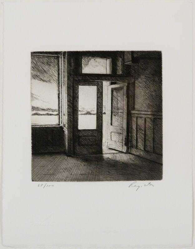 John Register, 'Wasteland Hotel', 1990, Print, Etching, Track 16 Gallery