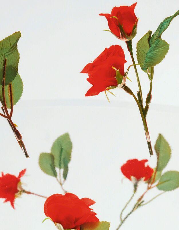 "Shiro Kuramata, '""Miss Blanche"" Chair', Design/Decorative Art, Acrylic, synthetic roses, anodised tubular aluminum, Sotheby's: Important Design"