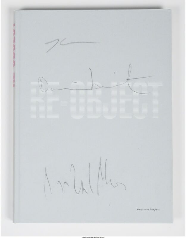 Damien Hirst, 'Mythos/Re-Object', 2007, Other, Two exhibition catalogues in slipcase, Heritage Auctions