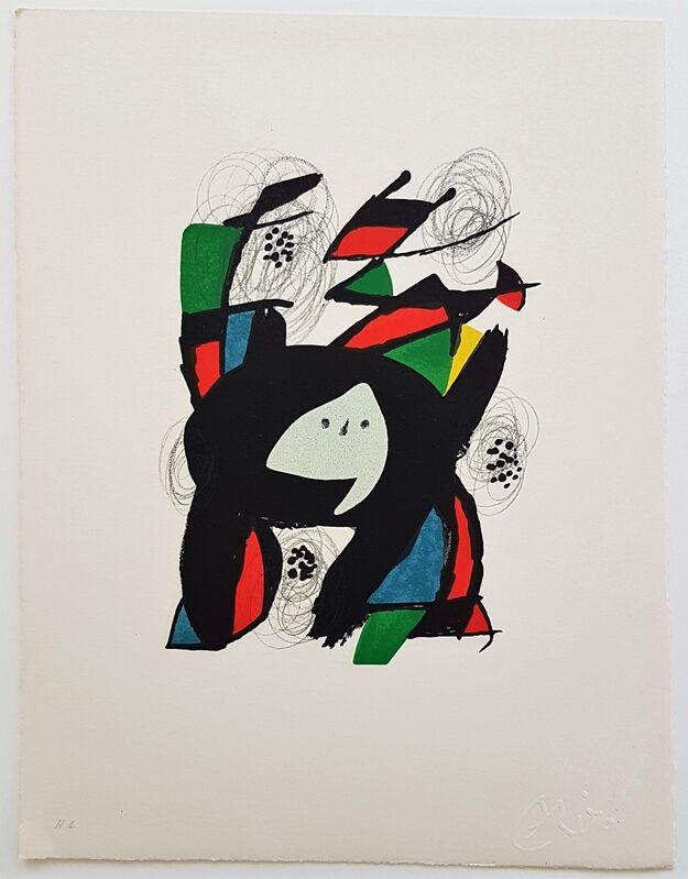 Joan Miró, 'La Mélodie Acide - 8', 1980, Print, Color lithograph, Cerbera Gallery