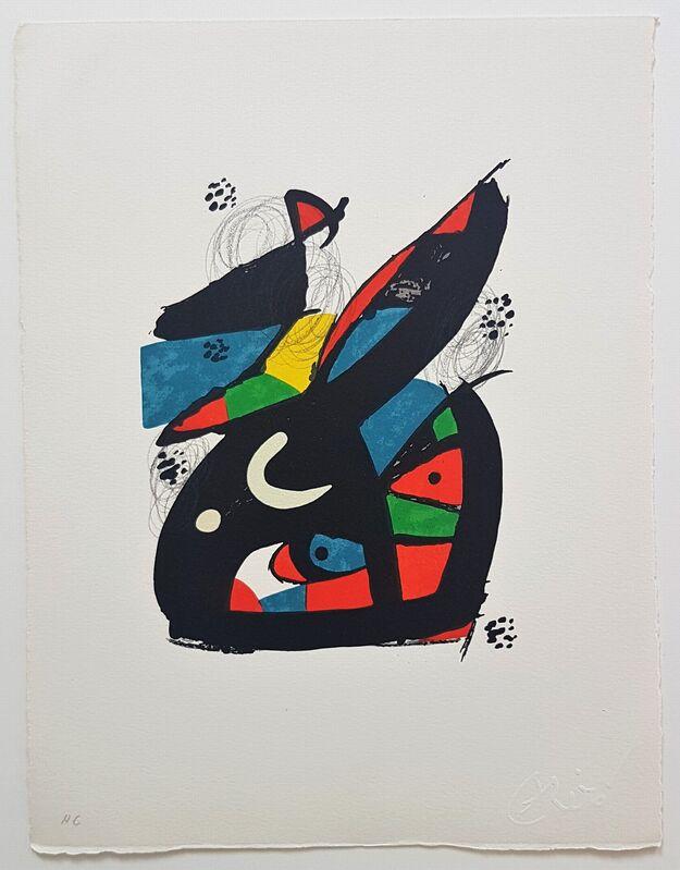 Joan Miró, 'La Mélodie Acide - 13', 1980, Print, Color lithograph, Cerbera Gallery
