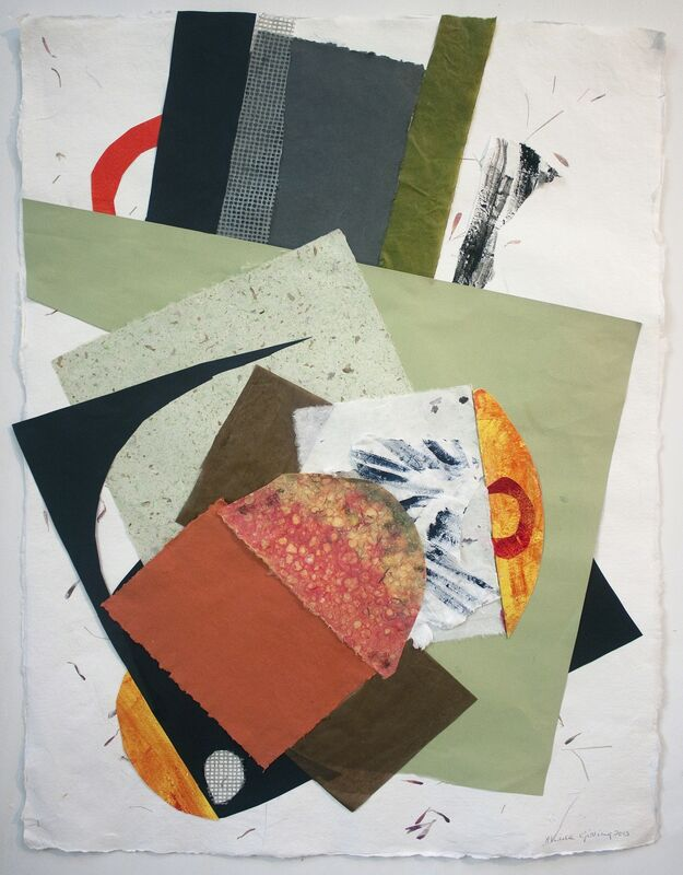Sheila Girling, 'Sonnet', 2013, Drawing, Collage or other Work on Paper, Handmade paper and acrylic, Annely Juda Fine Art
