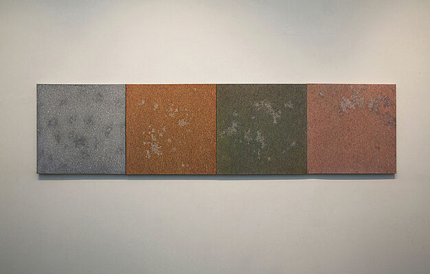 CONGERIES OF TIME, installation view