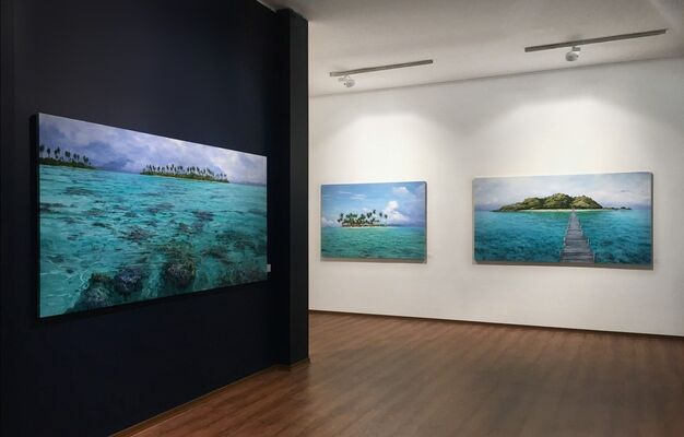Beyond Horizons by Leigh Hewson-Bower, installation view