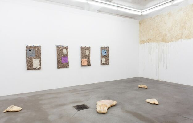 Floated On Foam [] Flew With Birds, installation view