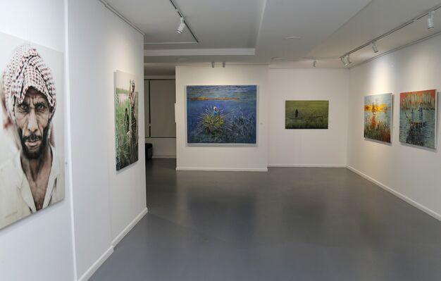 Between Rivers, installation view