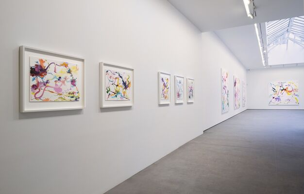 Fiona Rae - ABSTRACTS, installation view