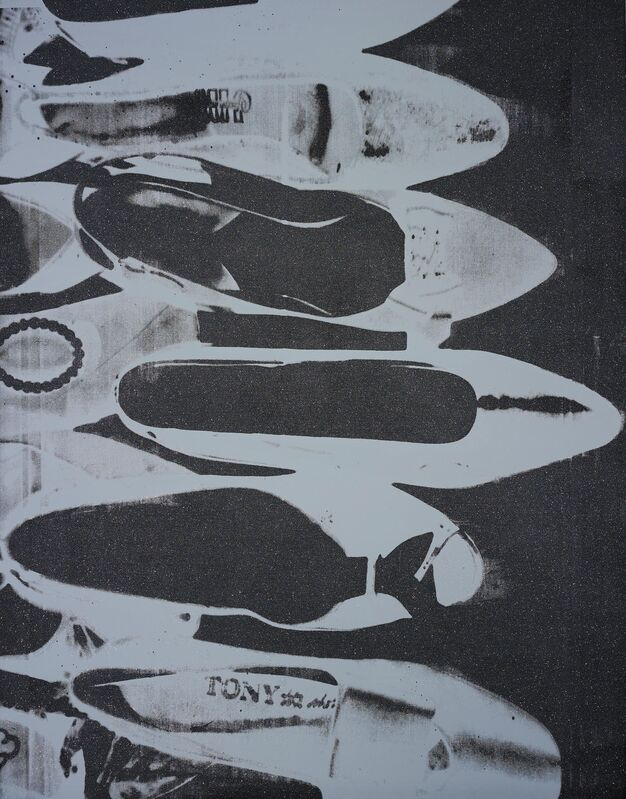 Andy Warhol, 'Diamond Dust Shoes', 1980-1981, Painting, Synthetic polymer, silkscreen ink and diamond dust on canvas, Gallery Red