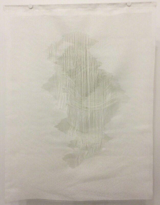 Angela Glajcar, 'Corum #022', 2015, Other, Cut glass fabric, steel, Diana Lowenstein Gallery