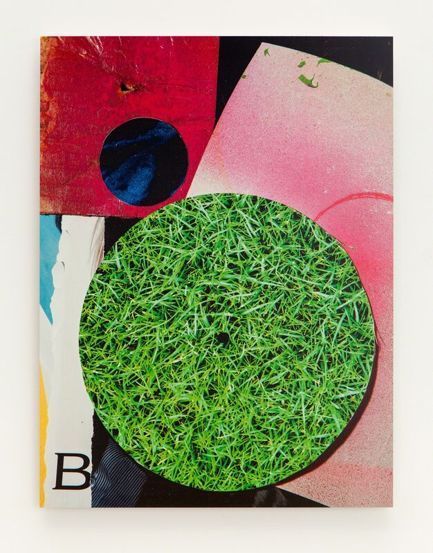 """Kevin Todora, '""""B"""" collage', 2015, Photography, Direct inkjet on MDO, Erin Cluley Gallery"""