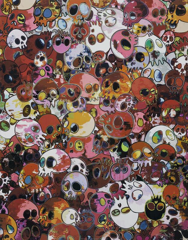 Takashi Murakami, 'MCRST, 1962-2011', 2011, Print, Offset Lithograph, Pinto Gallery