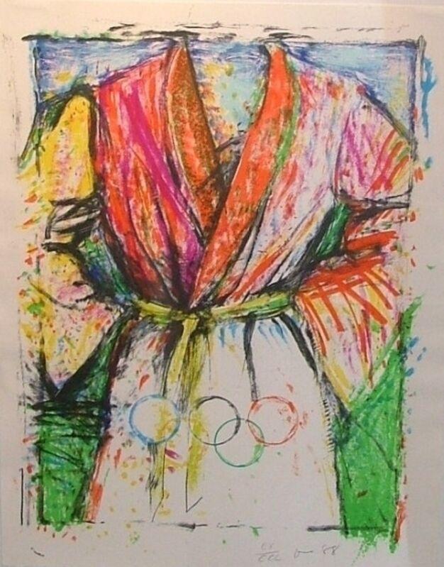 Jim Dine, 'Olympic Robe', 1988, Print, Serigraph, Contessa Gallery