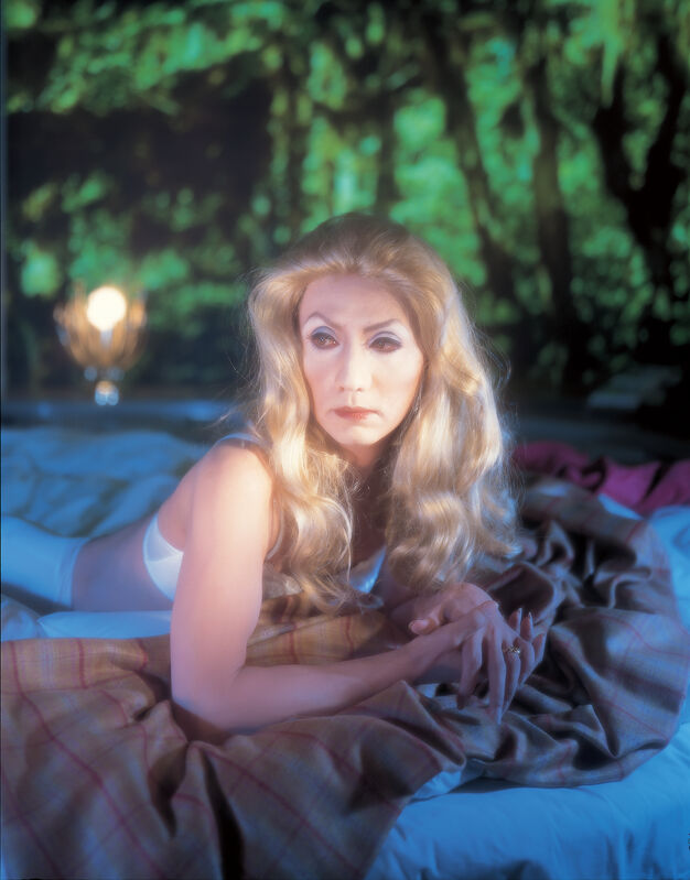 Yasumasa Morimura 森村 泰昌, 'Self-Portrait (Actress) / After Catherine Deneuve 1', 1996, Photography, Ilfochrome / Acrylic sheet, Luhring Augustine