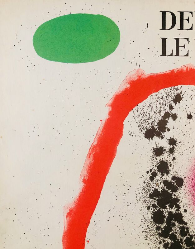 Joan Miró, 'Untitled Lithographe, Cover', 1961, Print, Original Lithograph, Inviere Gallery