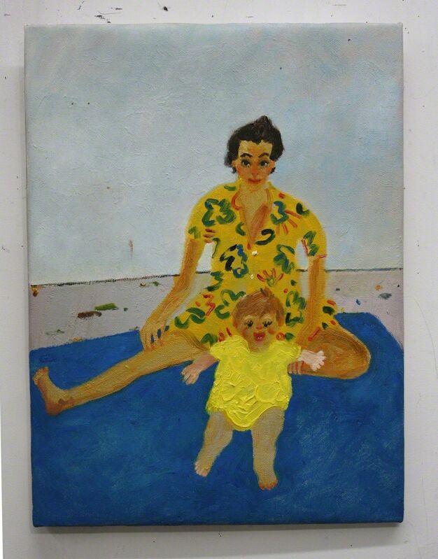 Daniel Heidkamp, 'Family Plan', 2013, Painting, Oil on linen, Knowmoregames