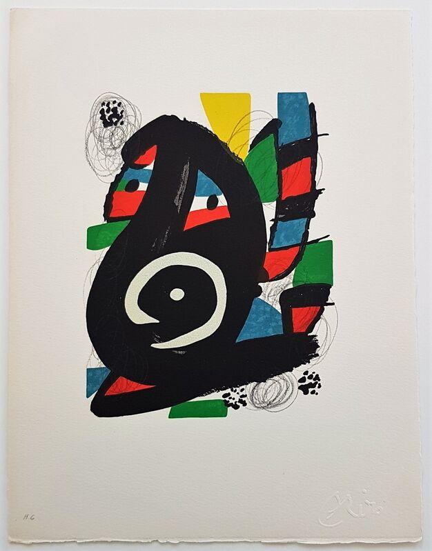 Joan Miró, 'La Mélodie Acide - 14', 1980, Print, Color lithograph, Cerbera Gallery