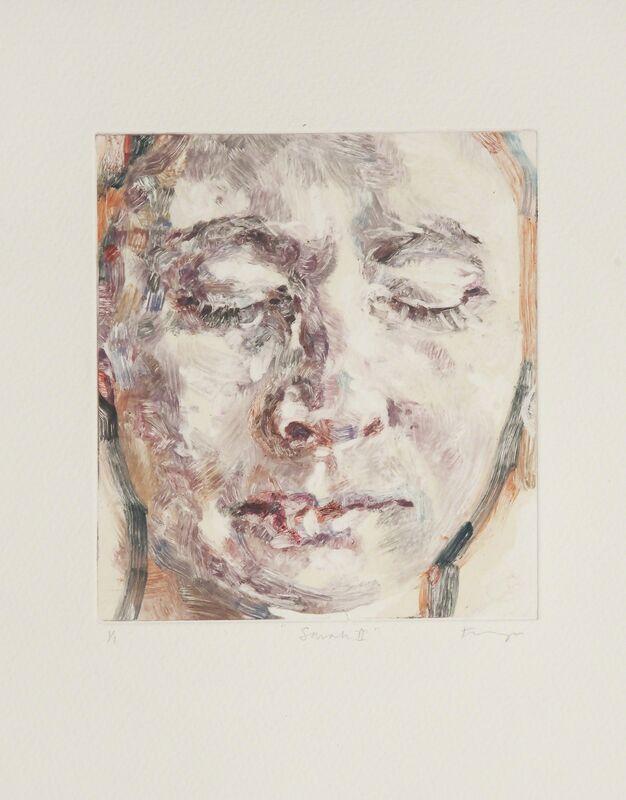 Freya Payne, 'Sarah II', 2014, Print, Monoprint, Flowers