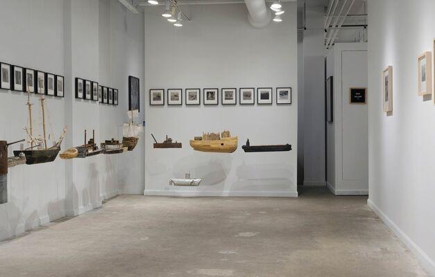 Lothar Osterburg: Waterline, installation view