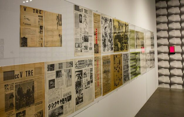 Here Comes Fluxus, installation view