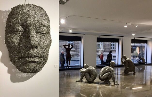 Seo Young-Deok - The Gray Man, installation view