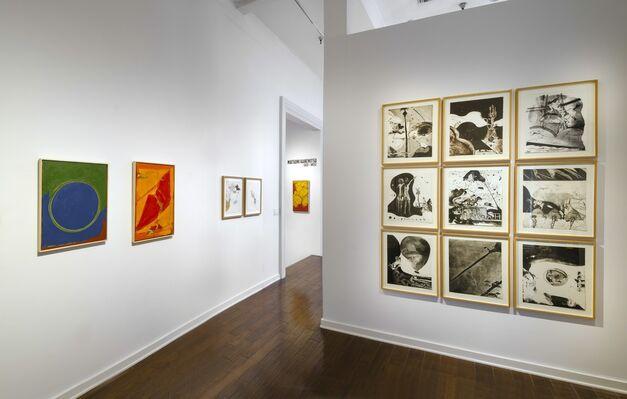 Matsumi Kanemitsu: East/West, installation view